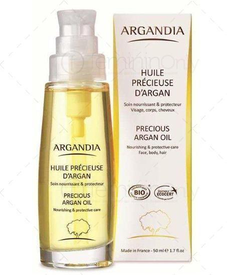 Notre huile chouchoute : huile d'argan pure bio (visage, cheveux, corps, ongles, dermato)  - 50 ml & 125 ml l fémininOnly l