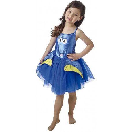 Disfraz de Dory para Niña con Tutú