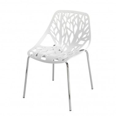 The Nick Scali Online Jardin Chair In White