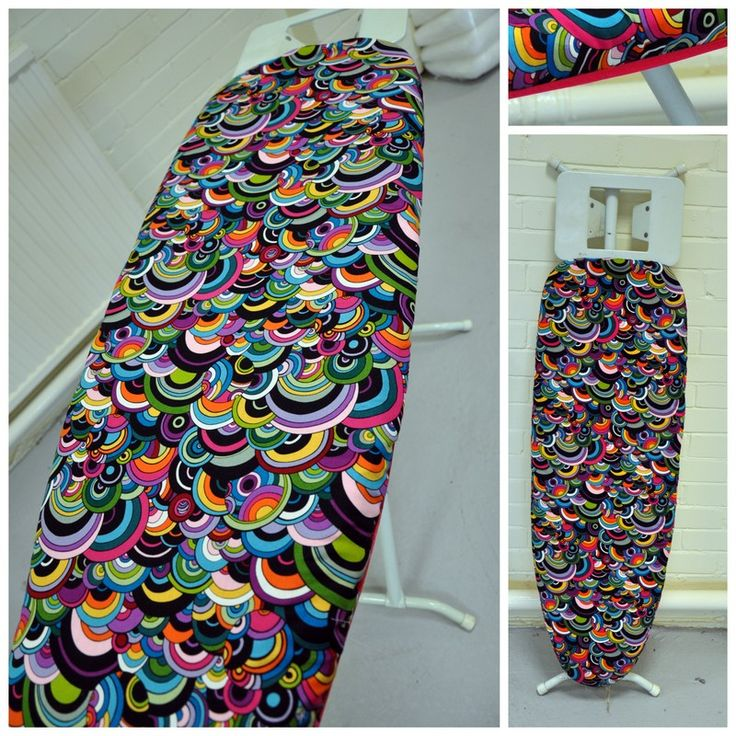 My ironing board has been looking rather sad and sorry for itself for a while now and it's been in the back of my head to recover it in some funky fabric, then when Mr Plush informed me that …