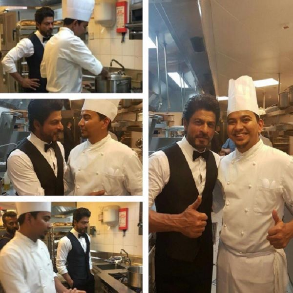 Shah Rukh Khan looks dapper as he shoots for a special project in Dubai  view pics