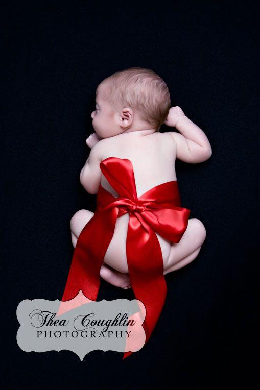 20 Ideen für Weihnachtsbilder mit Babys  – newborn photos