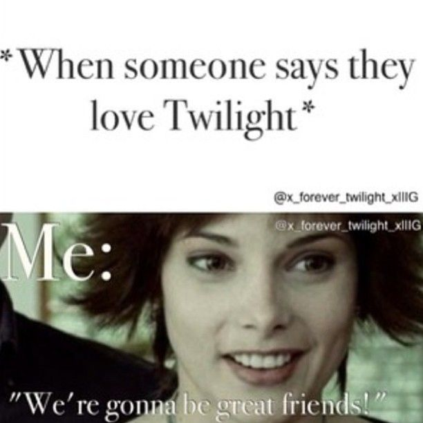 This is so me! Credit to: @x_forever_twilight_x :)) This is also true for when some says they love reading YA