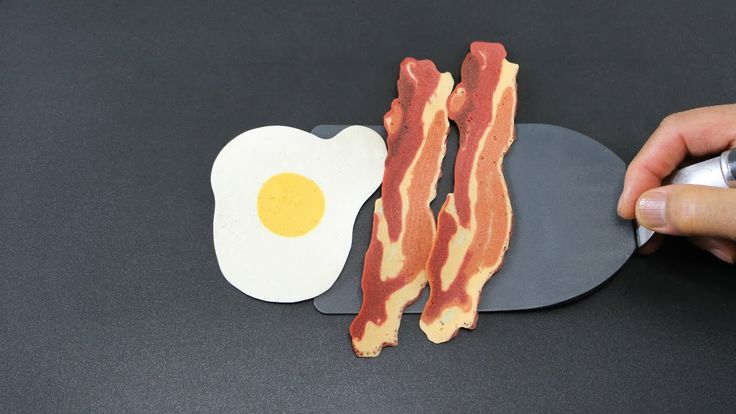 The 11 best pancake art images on pinterest pancake art pancake bacon and egg pancakes how to make perfect bacon and eggs using just pancake mix ccuart Gallery