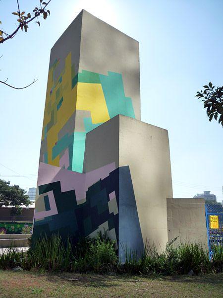 Wall Painting, Sao Paulo, Brazil by Nuria Mora