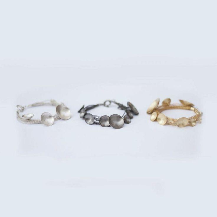 Lia Gonçalves | Joalharia de Autor _ bracelets _ moon collection _ silver
