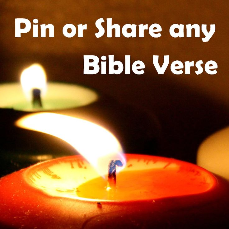 BiblePic.com: Pin or Share any Bible Verse