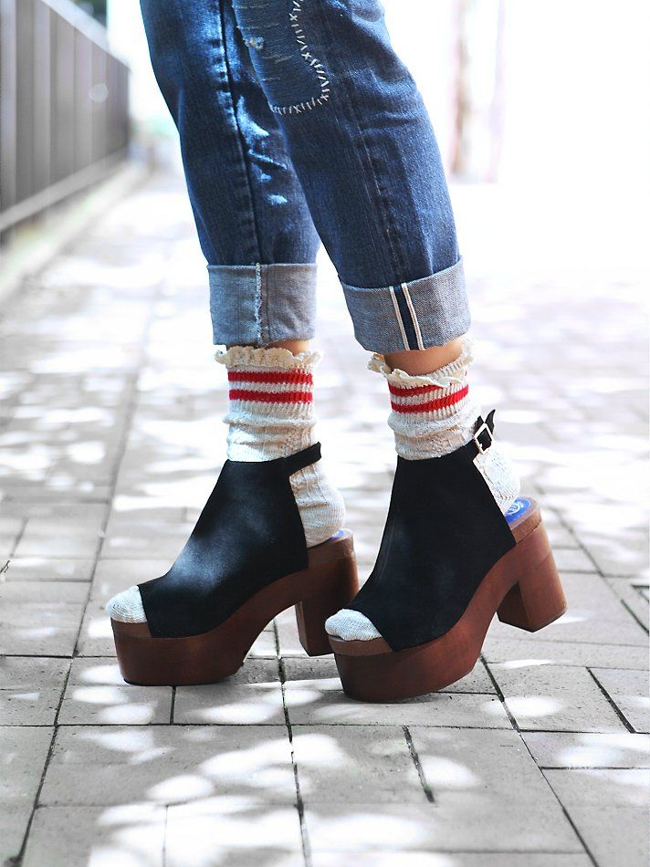 Free People Chemistry Covered Clog