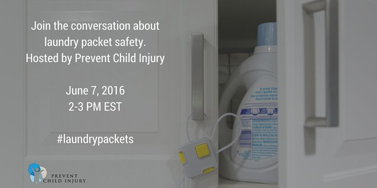 Do you have questions, comments or concerns about #laundrypackets?  Join the Prevent Child Injury's #LaundryPackets Twitter Chat @ 2pm!