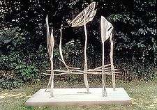 "Clepsydra by Molly Mason (Metal Sculpture) (102"" x 84"")"