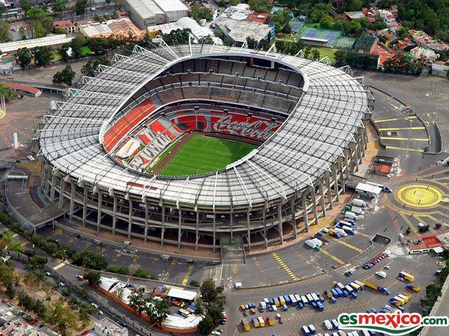 Estadio Azteca  Ciudad de Mexico  Capacidad 110,114 espectadores sentados