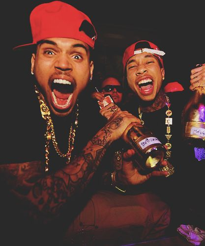 Chris Brown images Chris Brown with Tyga!!!! ;) :) wallpaper and