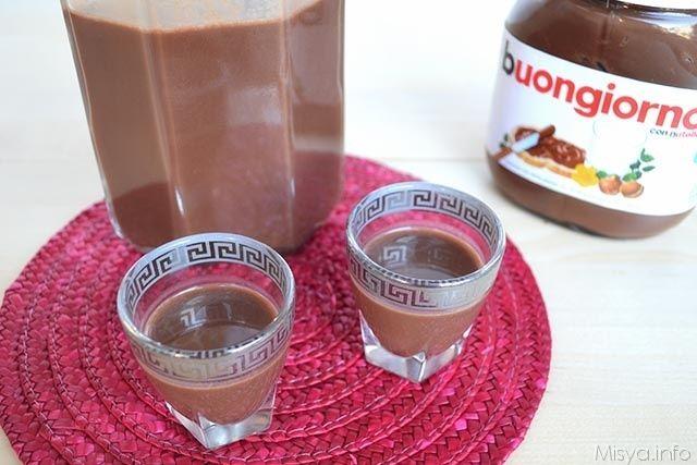 Liquore alla nutella, scopri la ricetta: http://www.misya.info/2013/03/09/liquore-alla-nutella.htm