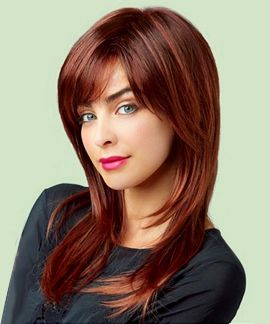 Serena by Revlon Wigs - This long layered hairstyle is crafted to be lightweight and comfortable. Synthetic fibers make styling easy, and Revlon offers an array of salon inspired hair colors for this wig!