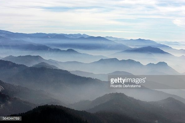 Aerial view of the Giant Sequoia National Monument in the foreground. Photo to illustrate a story on Martin Litton, one of the grand old men of the western conservation movement, who is still...