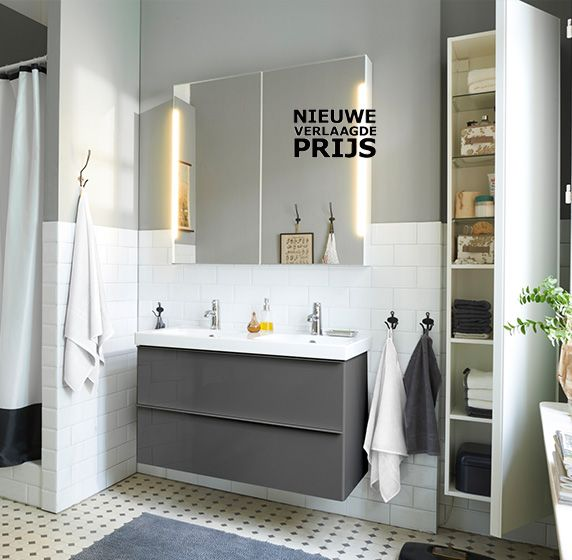 A peaceful and serene bathroom would not be complete without the - ikea meuble salle de bain godmorgon
