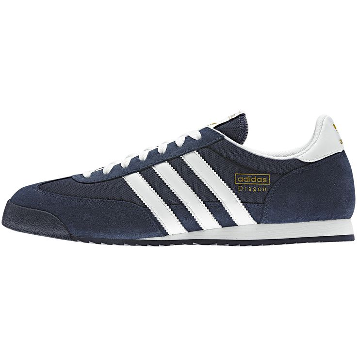 Tênis @adidas Dragon, New Navy / Metallic Gold / White