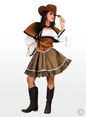 Wild West Lady Country Western Costumes