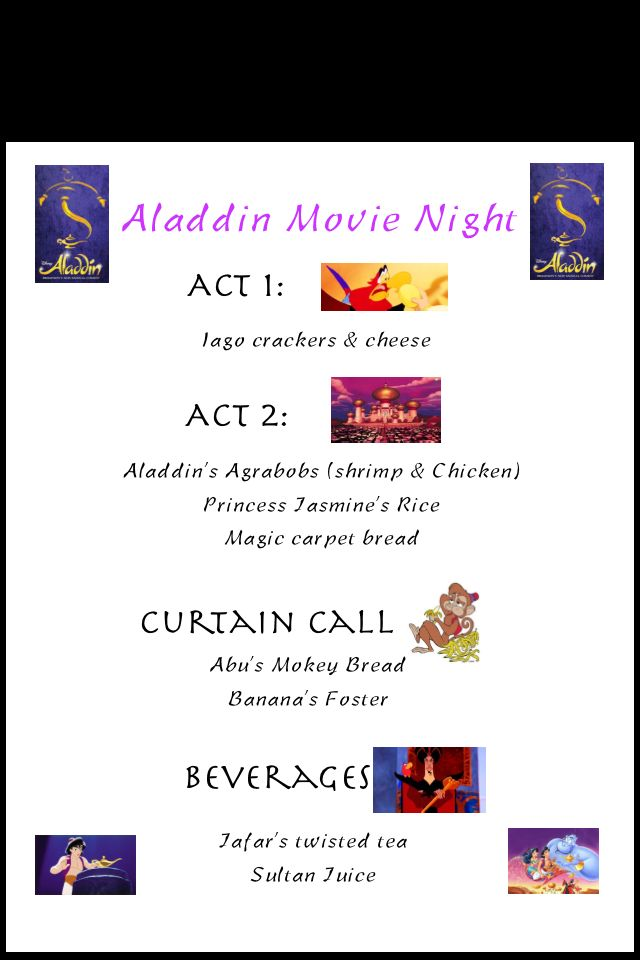 Aladdin movie night broadway #Aladdinmovienight