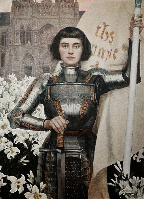 Joan of Arc, 1903, by Albert Lynch   (+++)