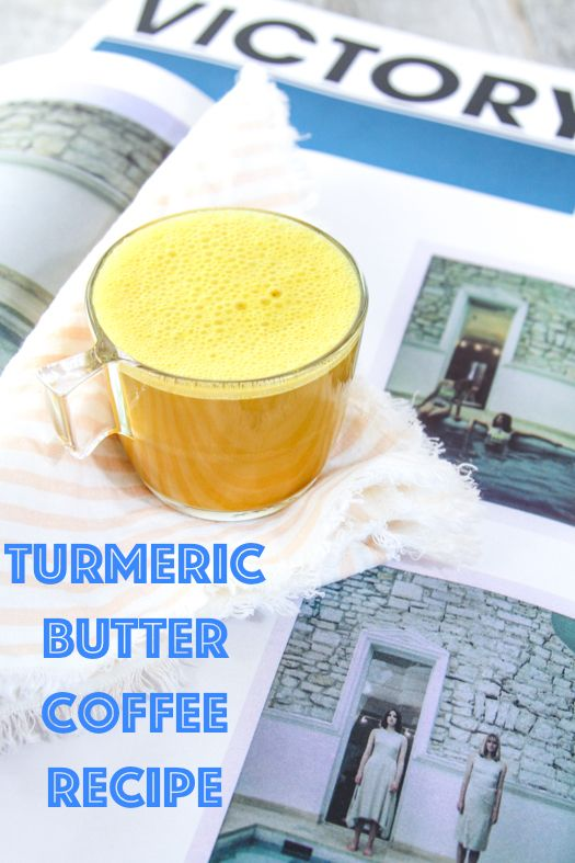 A simple recipe for turmeric butter recipe with only four ingredients!