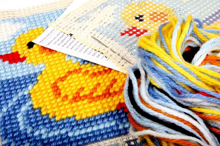 Tapestry kits.