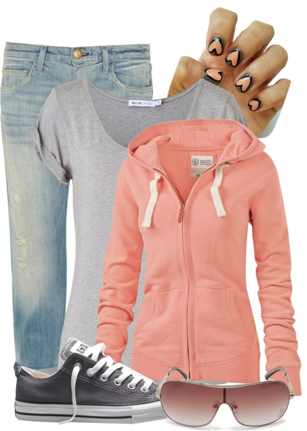 """casual day"" by c-michelle on Polyvore"