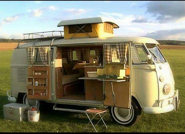 Güzel bir karavan!