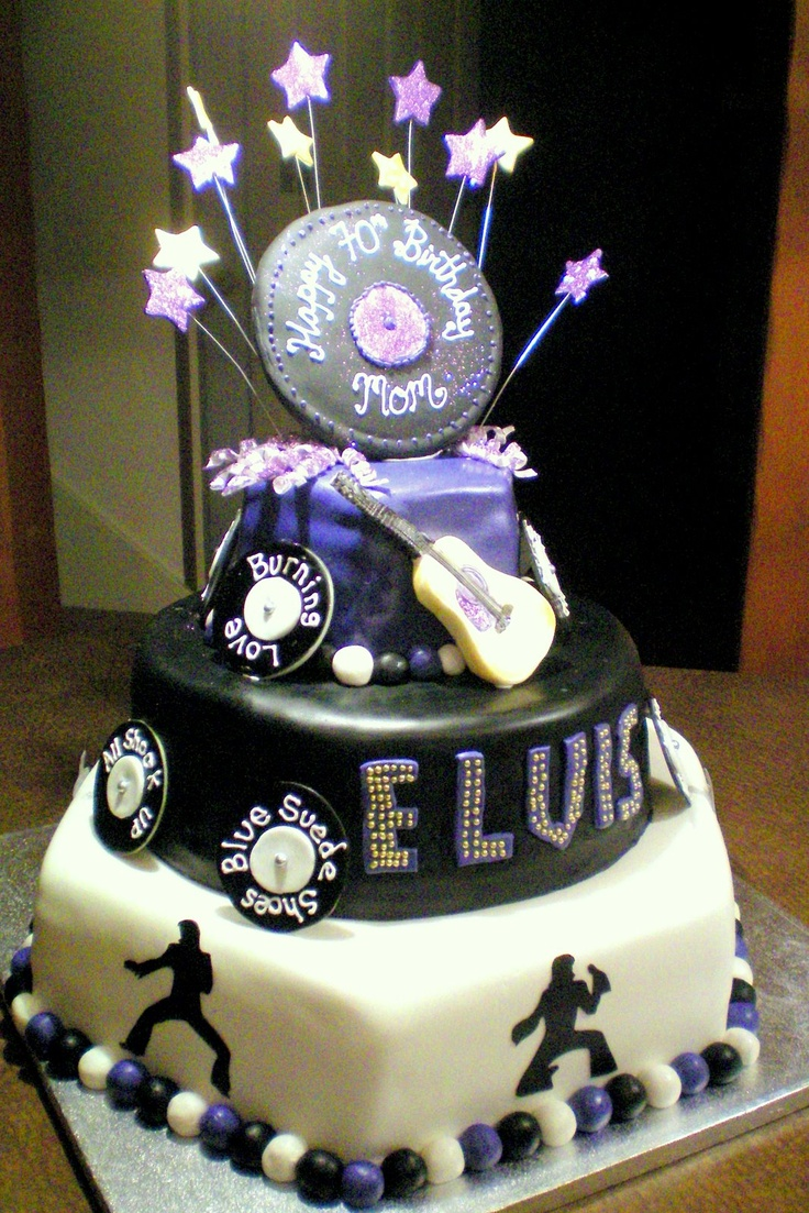 121 Best Cakes Elvis Images On Pinterest Elvis Cakes Elvis