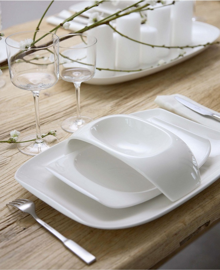 60 best Wit van Villeroy & Boch images on Pinterest | Dinnerware ...