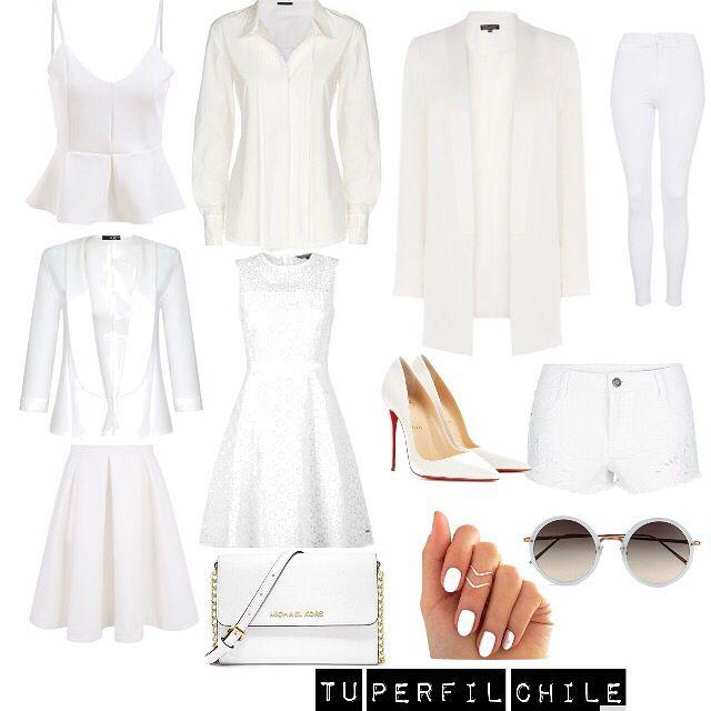 BLANCO: La ropa de color blanco se asocia al verano, también a la limpieza, la inocencia, la paz, aunque en Japón a los claveles blancos se les asocia a la muerte, lo cierto es que el blanco refleja la luz.