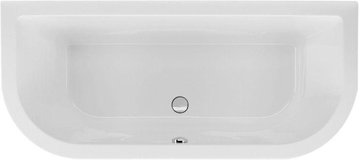 Badewanne Vorwand 180 x 80 x 50 cm In den Auswahlfeldern Ablaufgarnitur Wannenfüße 11,2 - 17,2 cm oder Wannenträger 62 cm Badewanne Vorwand 180 x 80 x 50 cm Bodenlänge 130 cm Inhalt 240 Liter aus hochwertigem Sanitär-Acryl weiß Vorwandwanne