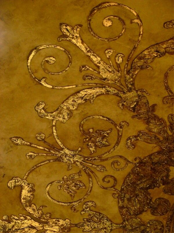 55 Best Gold And Silver Leaf Images On Pinterest Painted