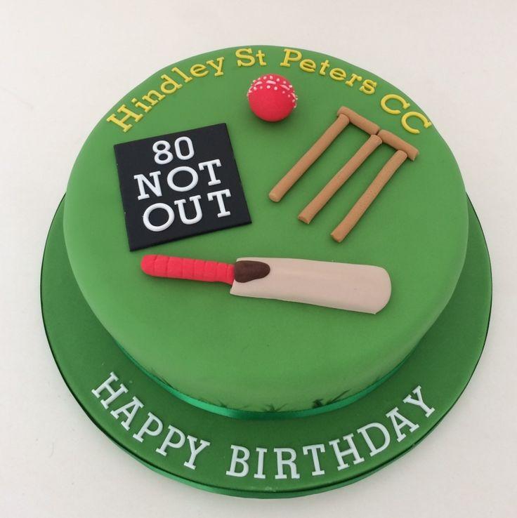 Cricket theme cake                                                                                                                                                                                 More