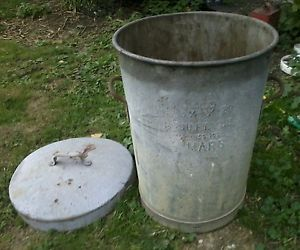 We all had these old metal dustbins before we had recycling and collection was once a week.  The dustbin men would come into the garden to collect it too, we didn't have to sort it all and put it out onto the street (sigh!)