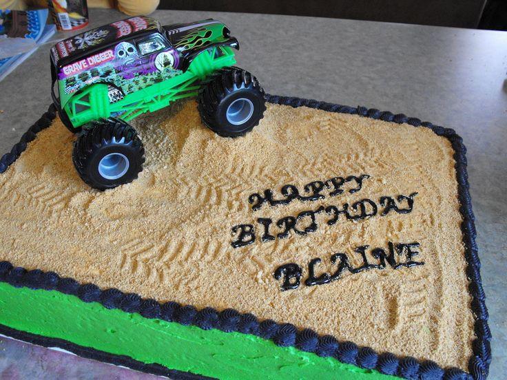 Grave Digger Cake — Birthday Cakes cakepins.com