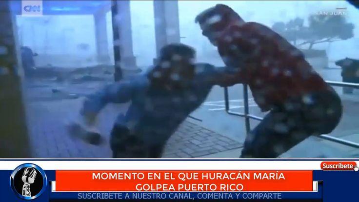#noticias ULTIMAS NOTICIAS HURACAN MARÍA golpea a PUERTO RICO
