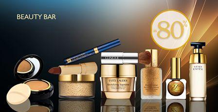 Επώνυμα καλλυντικά και προϊόντα ομορφιάς από τη συλλογή Beauty Bar με Έκπτωση έως -80%