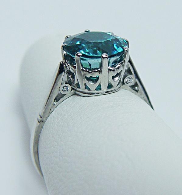 1 Carat Cubic Zirconia Engagement Rings