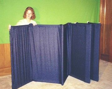 Plans for a portable puppet stage using PVC ~ do we know anyone that would want to tackle this?