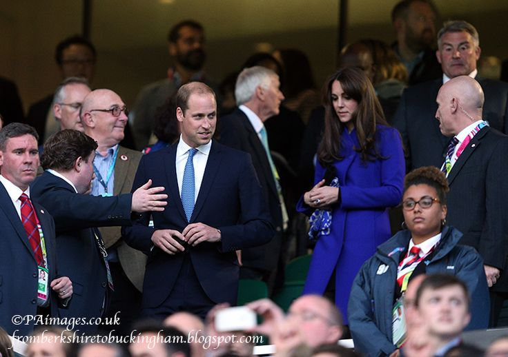 From Berkshire to Buckingham : Kate Debuts New Reiss Coat at Rugby World Cup