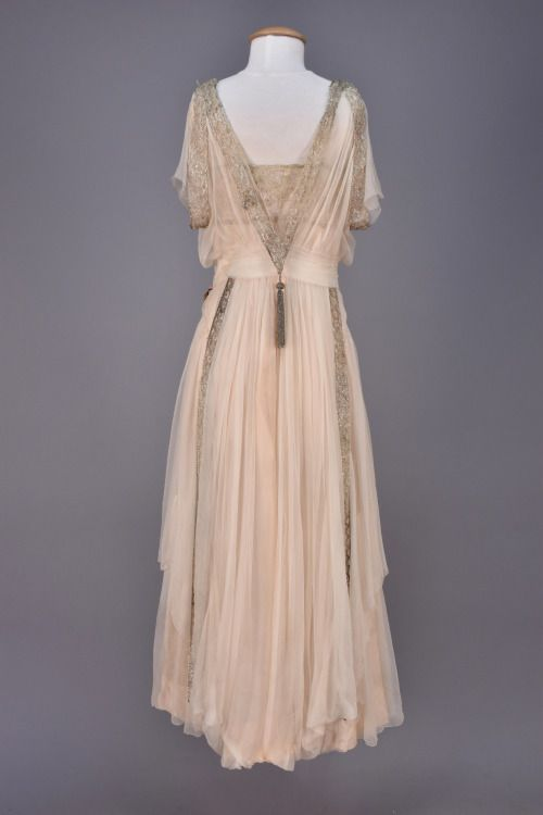 Evening dress ca. 1918From Whitaker Auctions