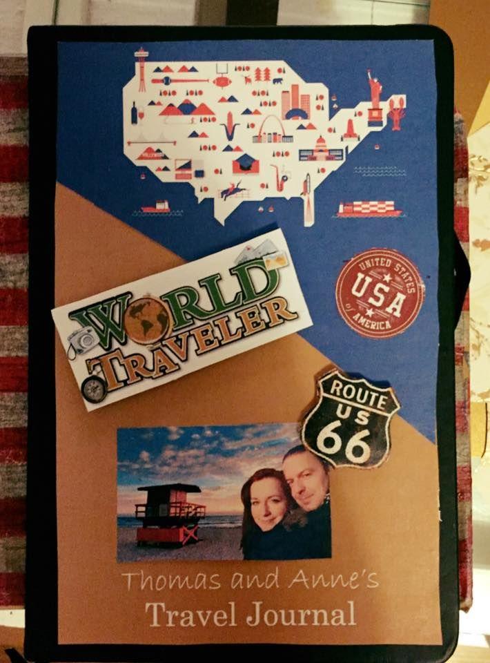 Diy travel journal reisetagebuch selfmade for Geschenke fa r papa diy