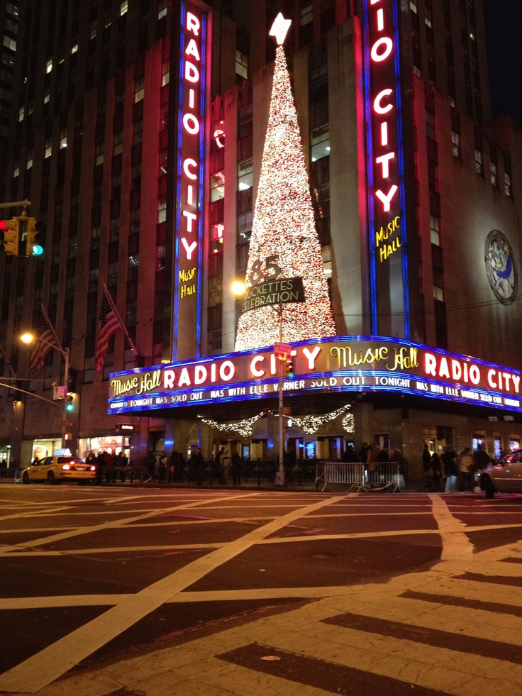 New York Radio City hall