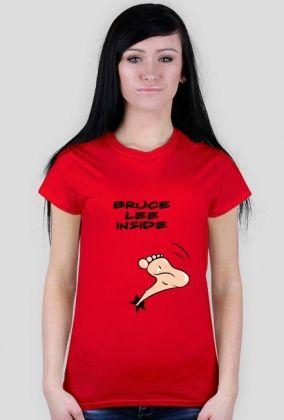 Bruce Lee inside (editable text)