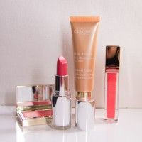 Clarins make up 2014  opalesence http://www.thebeautymusthaves.com/beauty/clarins-spring-make-look/