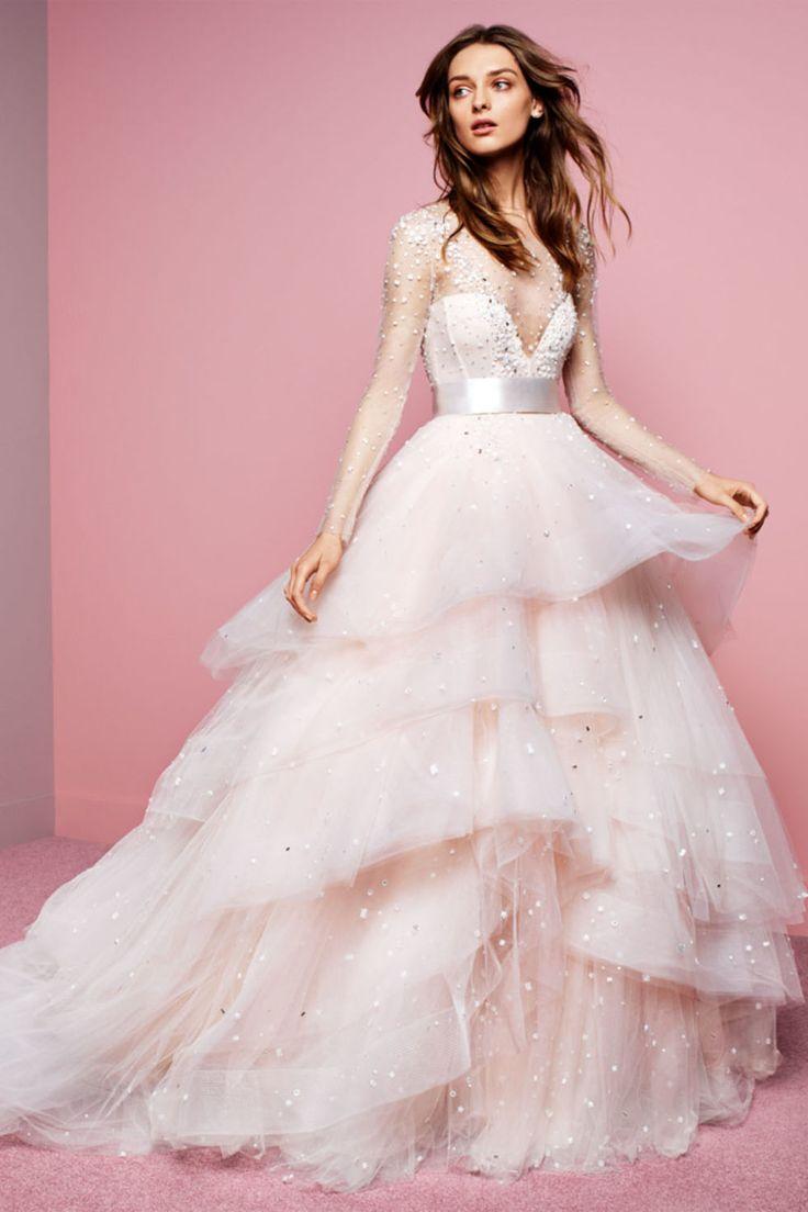 24 best Bridal 2016 Spring images on Pinterest | Wedding frocks ...