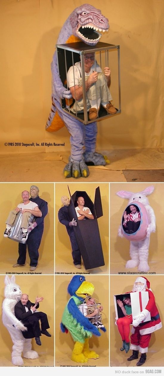 Adult costumes halloween DIY crafts ideas  omg this is funny would love to wear this to my daughters work id just show up with one of these on how fun