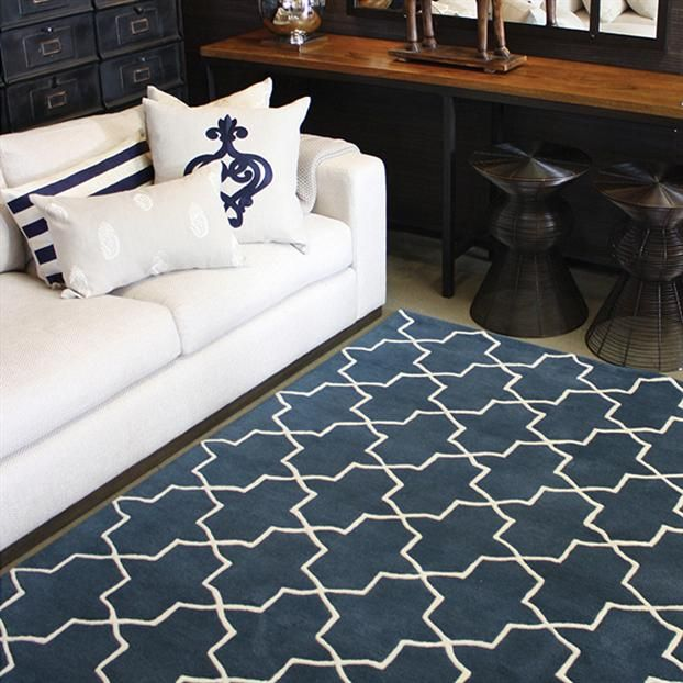 Geometric Rug - various colours available 250cm x 350cm rrp $2700 + freight