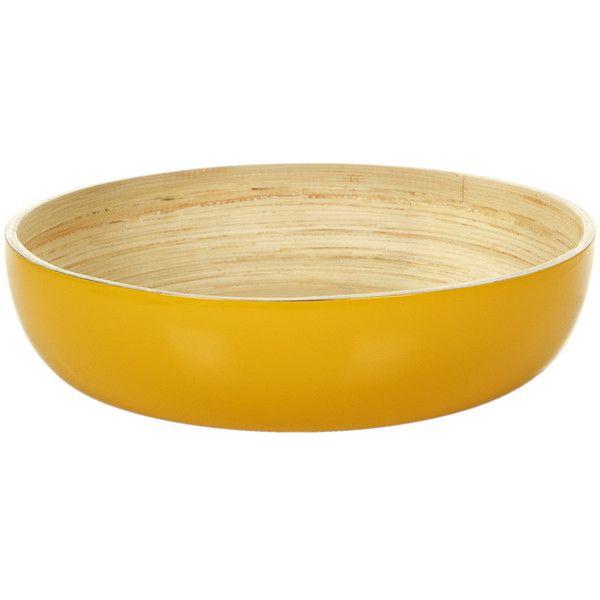 Ekobo Fresco Glossy Fruit Bowl Sun 120 Aud Liked On